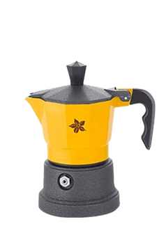 Espresso Stove Top Maker (yellow- 1 cup)